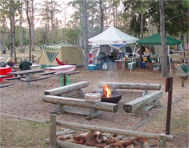 The Riggs Family - Disney Fort Wilderness Tent Camping Dec ...